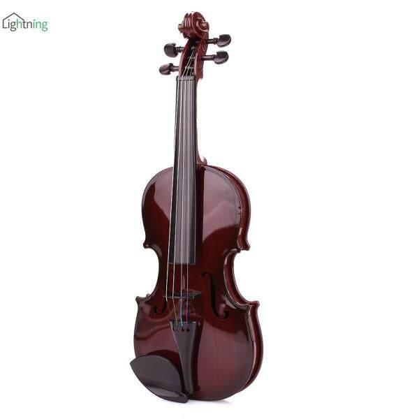 Violon Trẻ Em LIN Trẻ Em Violon Studnets Acoustic Violin Di Động Đen ABS 39CM Đồ Chơi Chơi Học Sinh Trang Trí Giáo Dục Sớm Trẻ Em