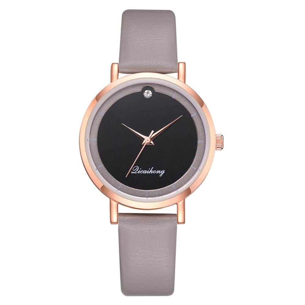 BPFAIR Fashion Luxurious Girls Ladies Leather Flash Dial Quartz Analog Wrist Watches   Free shipping Malaysia