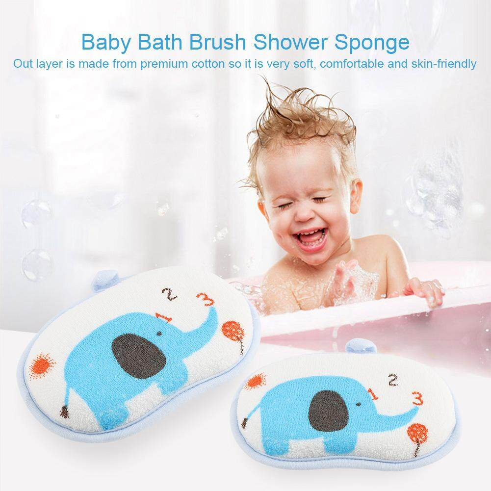 Furniture Cheap Price Baby Kids Cute Elephant Bath Brushes Bath Sponge Baby Shower Convenient Product