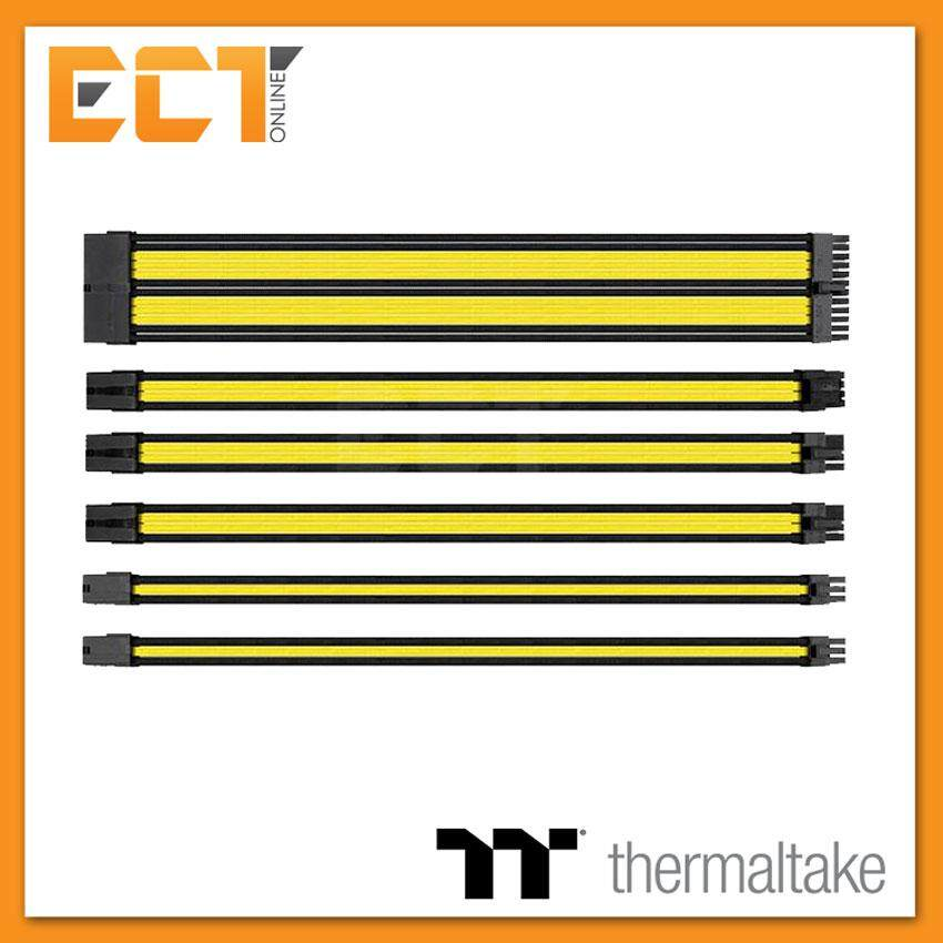 Thermaltake Ttmod Sleeve Cable (cable Extension) – Yellow/black Ac-047-Cn1nan-A1 By Ect Online.