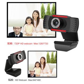 Webcam USB Camera Web Độ Phân Giải Cao 480P 720P 12.0MP Webcam Kẹp Xoay 360 Độ Có Micro, Dành Cho Máy Tính PC 7