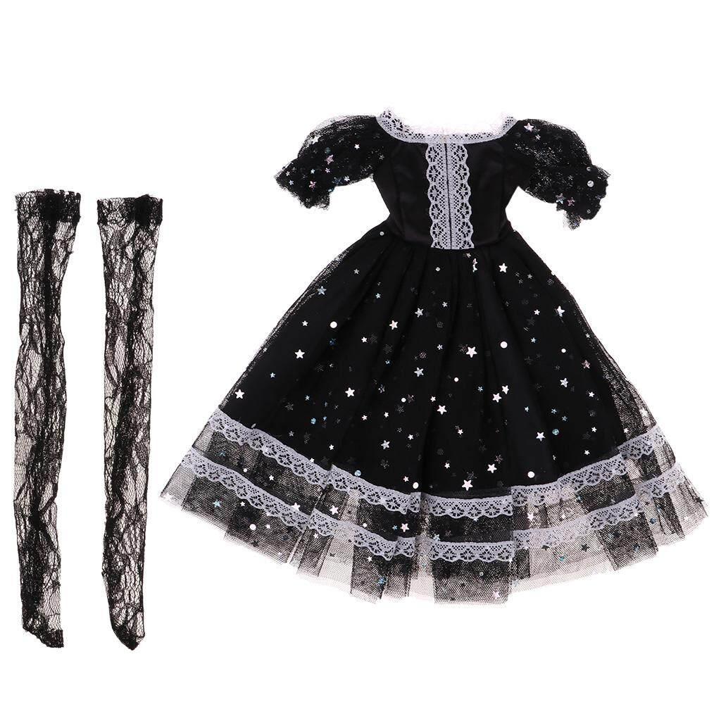 X1 Mimi Collection BJD SD Clothes 1//4 BJD Doll Black Straples Lace Bikini Set