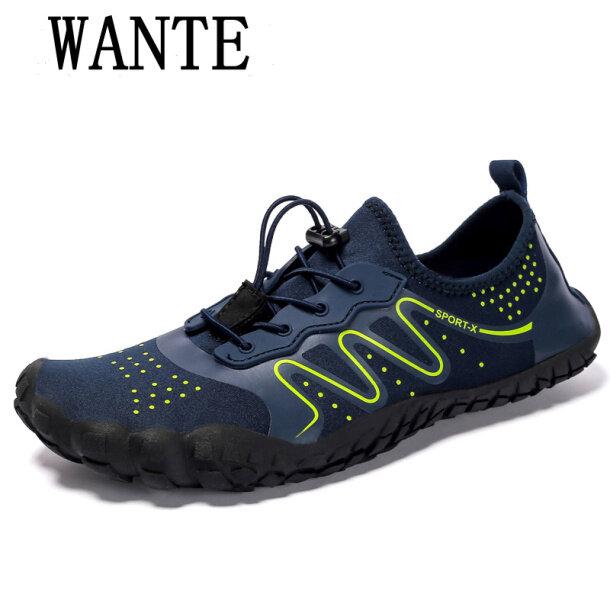 WANTE Sneakers Giày Chống Trượt Cho Nam Người Đàn Ông Của Giày, Giày Lội Ngoài Trời, Phụ Nữ Bãi Biển Giày Nước Đi Chân Đất Giày BƠI Giày giá rẻ