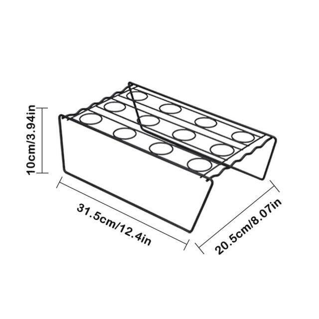 Giá Trưng Bày Hình Nón Kem Bằng Thép Không Gỉ Giá Đỡ Hình Nón Kem Tự Làm Nón Nướng Bánh, Giá Đỡ Khay Làm Mát Bánh Cupcake