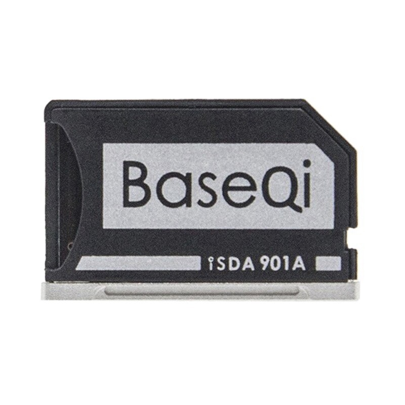 BASEQI Hidden Aluminum Alloy High Speed SD Card Case for ASUS A401L Laptop