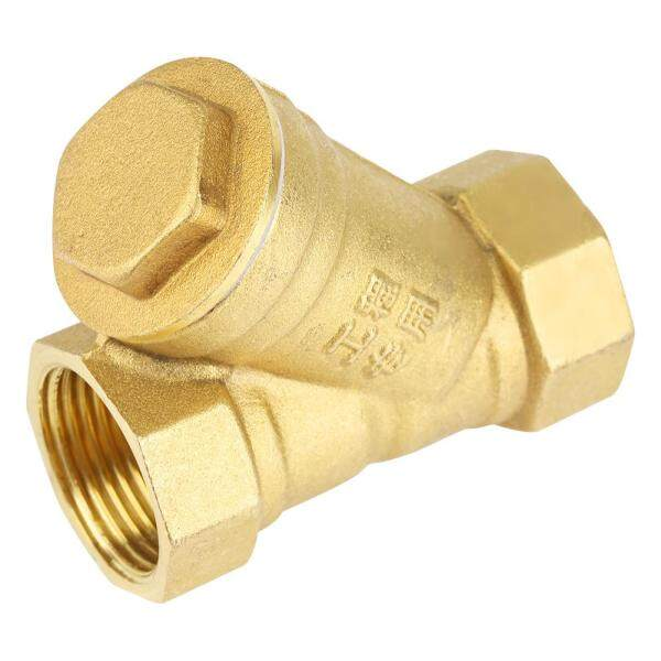 3/4  BSPP Female Thread Y Shaped Brass Strainer Filter Valve Connector for Water Separation
