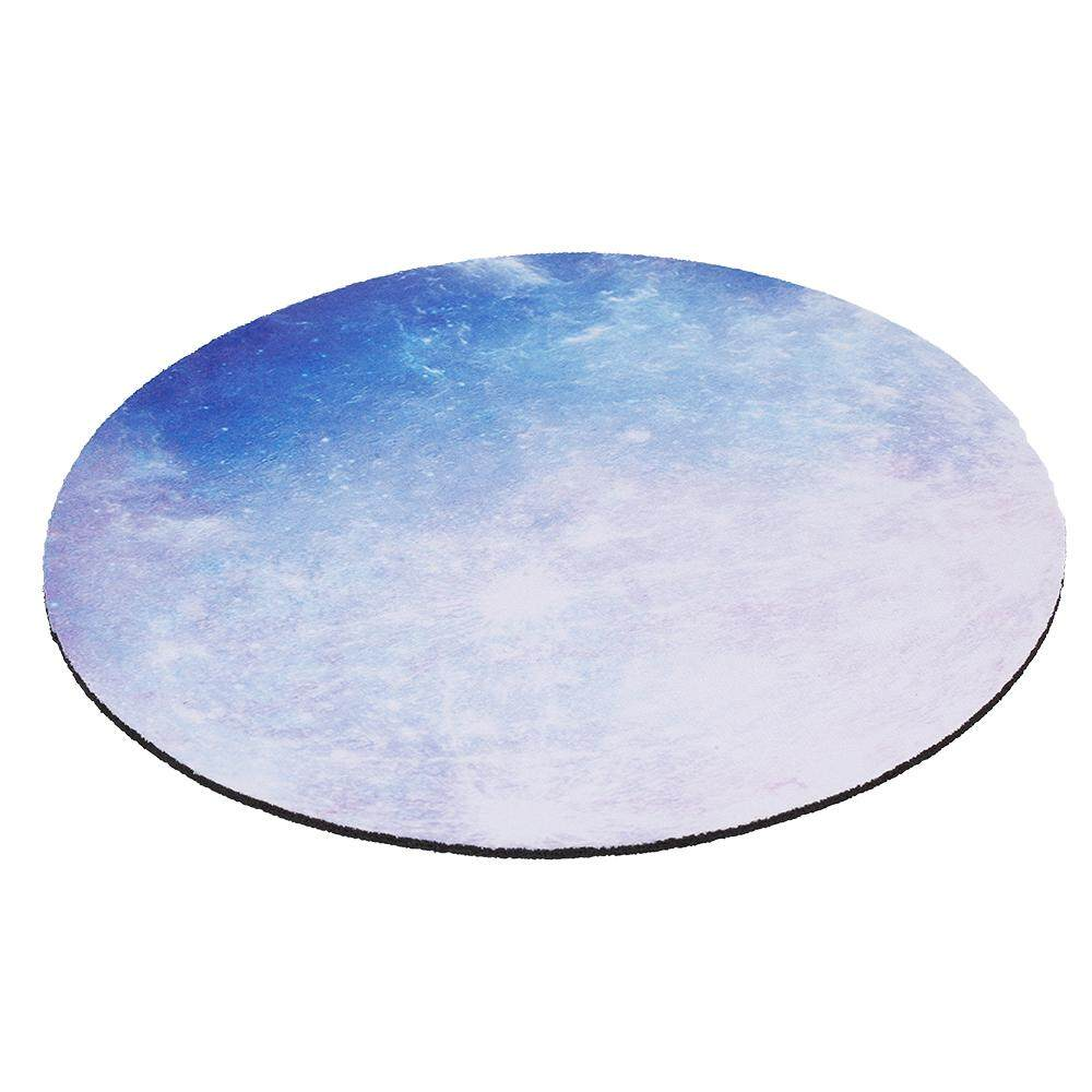 Round Mouse Pad Gaming Mouse Pad Anti-skid Wear-resistant Rubber Mouse Pad Suitable for Home Game Office Red Magic Circle Malaysia