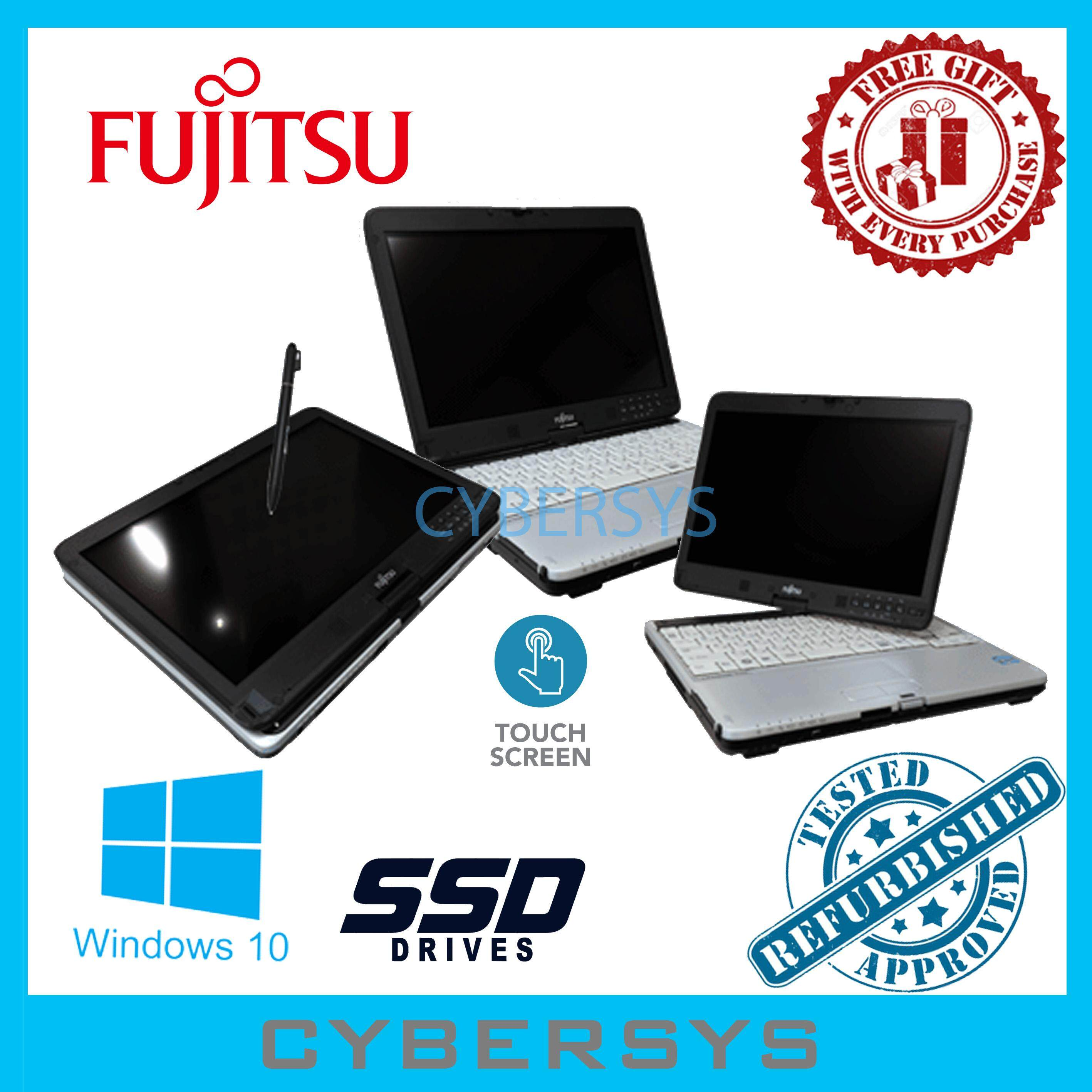 Fujitsu Lifebook Intel(R) Core i5 2GB 30GB SSD Touch Screen Laptop Notebook (Refurbished) Malaysia