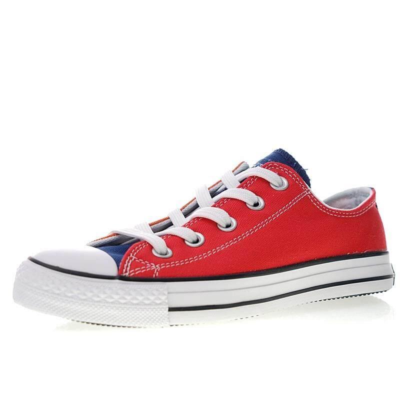 ยี่ห้อนี้ดีไหม  ปทุมธานี Converse_Anniversary_One_Piece_X_Converse_All_All_Star_100_MC_OX_Low_Brackets_Vulcanized_canvas_shoes _