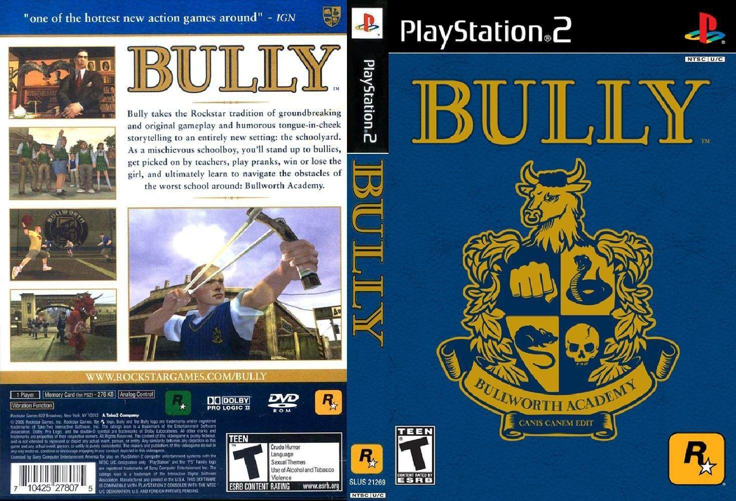 Ps2 Bully By Ithomas.