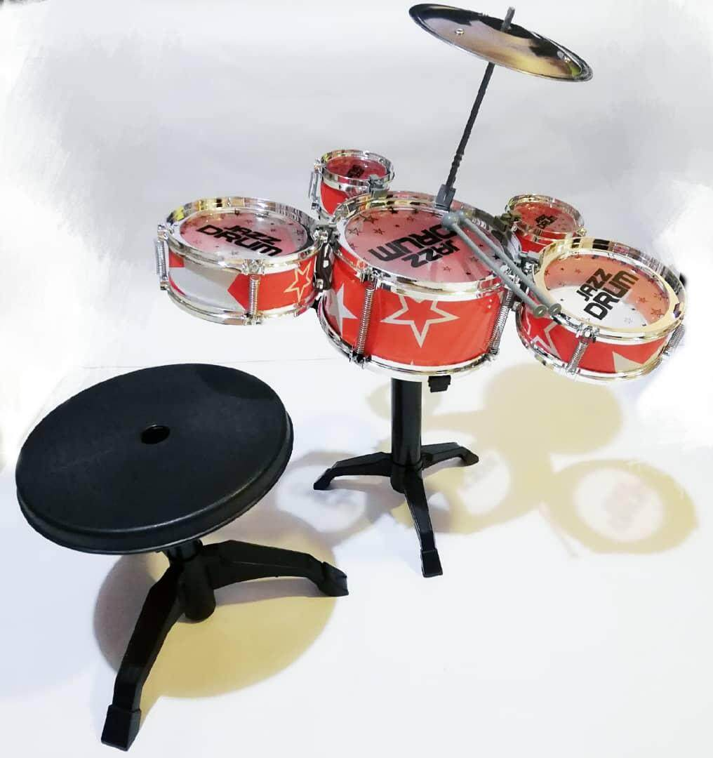 Tendy Jazz Mini 5 Drums Set Kids Play Music Toy With Chair By Summer All In One Marketing.