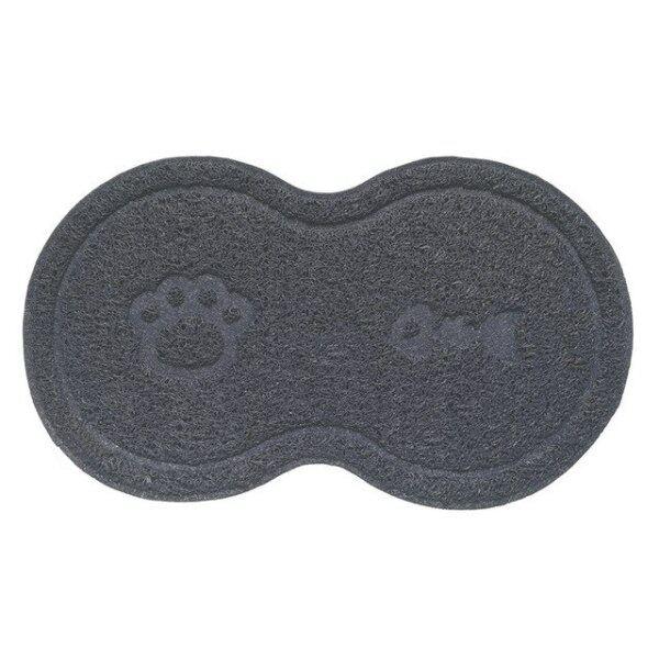 Thảm Lót Bát Cho Mèo PVC, Khay Đĩa Đựng Thức Ăn Nước Cho Chó Cưng Tấm Lót Sàn Lau Chùi Bằng PVC Tấm Lót Đĩa Lau Thức Ăn Cho Thú Cưng