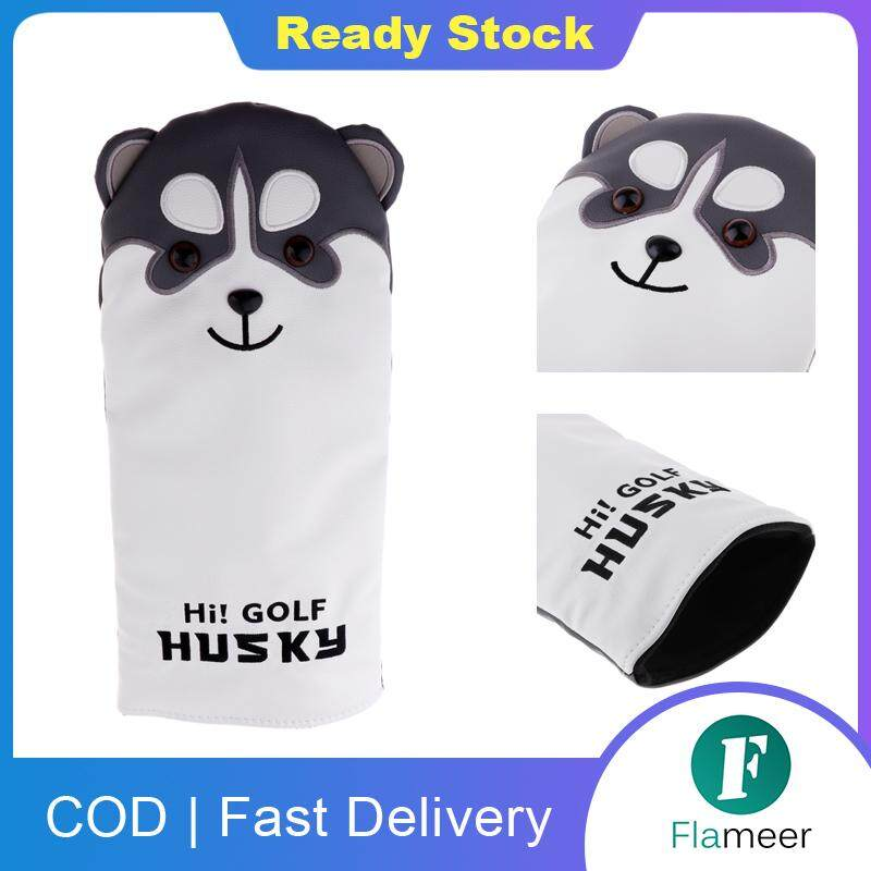 Flameer Professional Golf Headcover Sports Club Driver Fairway Wood Cover Accessory Dog Pattern For Scotty Cameron.