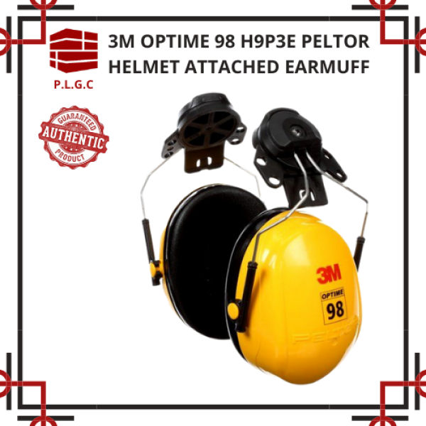 3M PELTOR Optime H9P3E Helmet attached Earmuff ( NNR 23 DB )