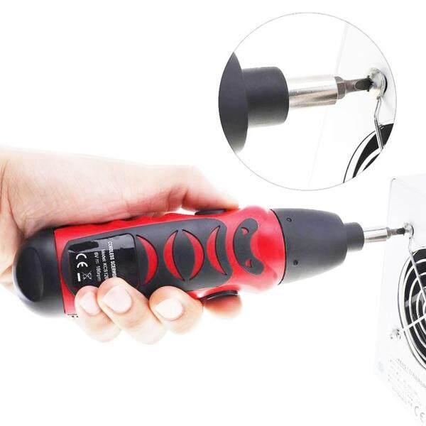 Tuốc nơ vít điện mini cầm tay không dây sử dụng pin khô dùng để sửa chữa vật dụng trong nhà - INTL