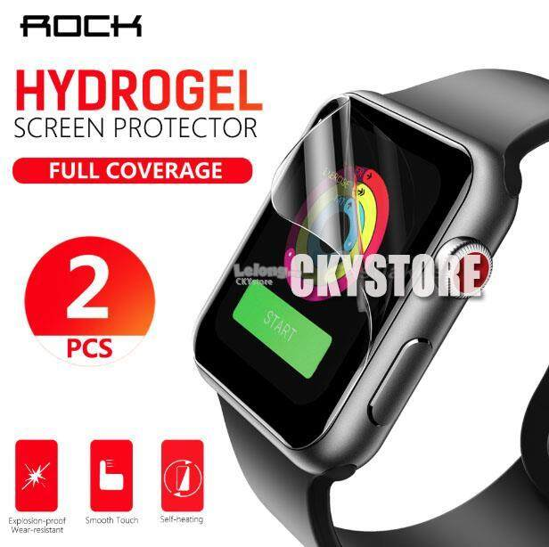 Apple Watch 2 3 4 5 38 40 42 44mm ROCK HYDROGEL Full Screen Protector