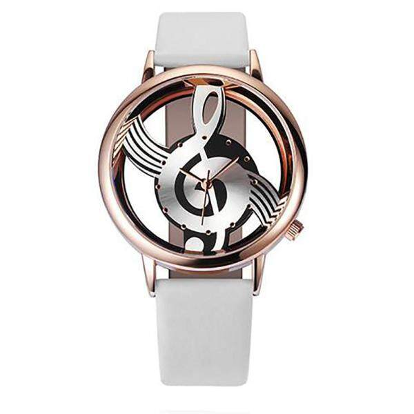 Fashion Women Watches Note Music Notation Leather Analog Quartz Wrist Watch Malaysia