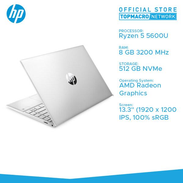 HP Pavilion Aero Laptop 13-be0049AU (R5 5600U/8GB/512 NVME/13.3 100%srgb/W10) Natural Silver Malaysia