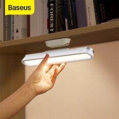 BASEUS Từ Bàn Đèn Bàn Treo Không Dây Cảm Ứng Đèn Bàn LED Phòng Riêng Nghiên Cứu Đèn Đọc Sách Báo Mờ Dần Đèn Ngủ USB