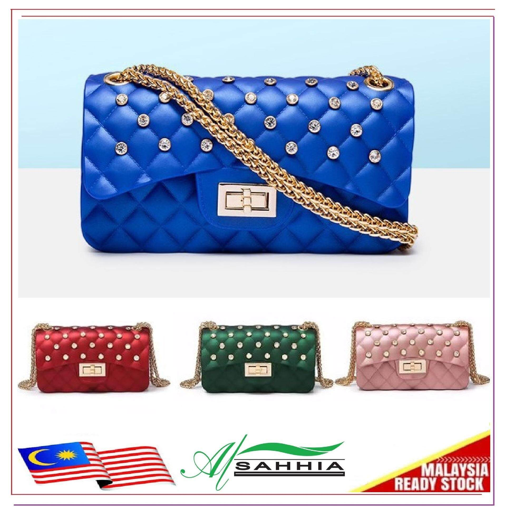 69967dbd096 Al Sahhia Ready Stock Small   Large Jelly Bag Diamond (CAN CHOOSE SIZE IN  VARIATION
