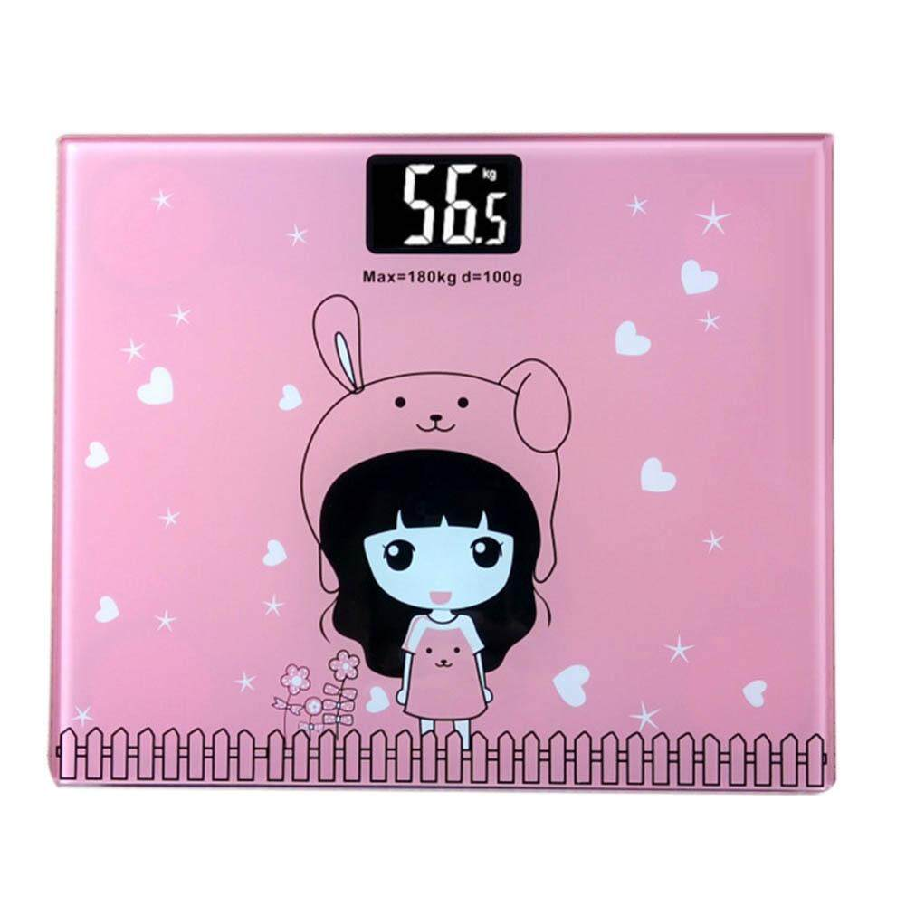 Household Electronic Scales Accurate Mini Health Scales Cartoon Electronic Scales Gifts Custom Night Vision Body Weight Scales