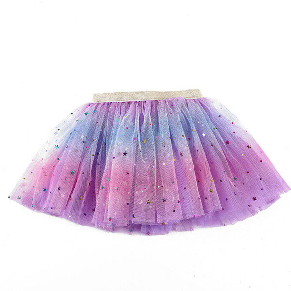 Giá bán Váy Tutu Cho Bé Gái, Trang Phục Múa Ba Lê Đính Kim Sa Lấp Lánh Cho Bé Tập Đi