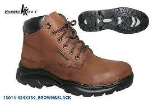 13014-424 BROWN HAMMER KINGS SAFETY SHOE