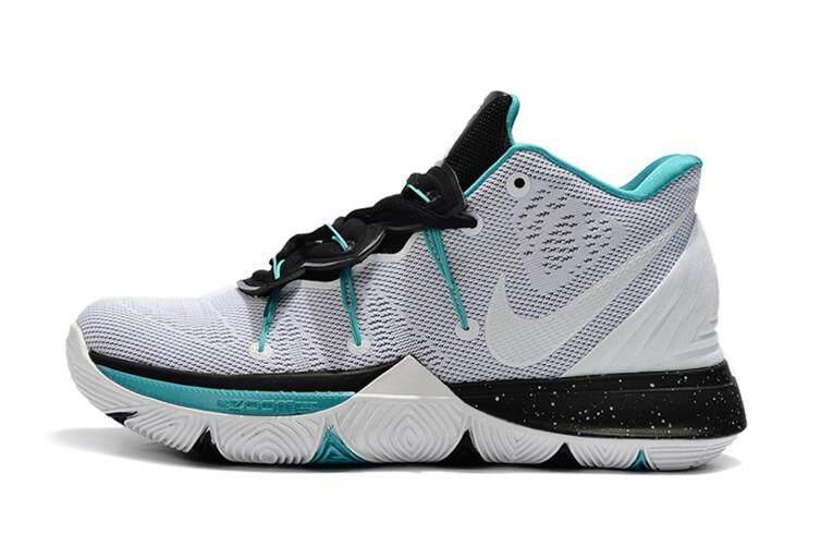 614f0627e614 Nike Original Kyrie Irving 5 MEN Basketaball Shoe White Green Global Sales