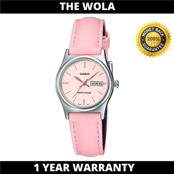 (100% Original CASIO) CASIO Women Casual Watch LTP-V006L-4BUDF (watch for women / jam tangan wanita / Casio watch for women / Casio watch / women watch) Malaysia