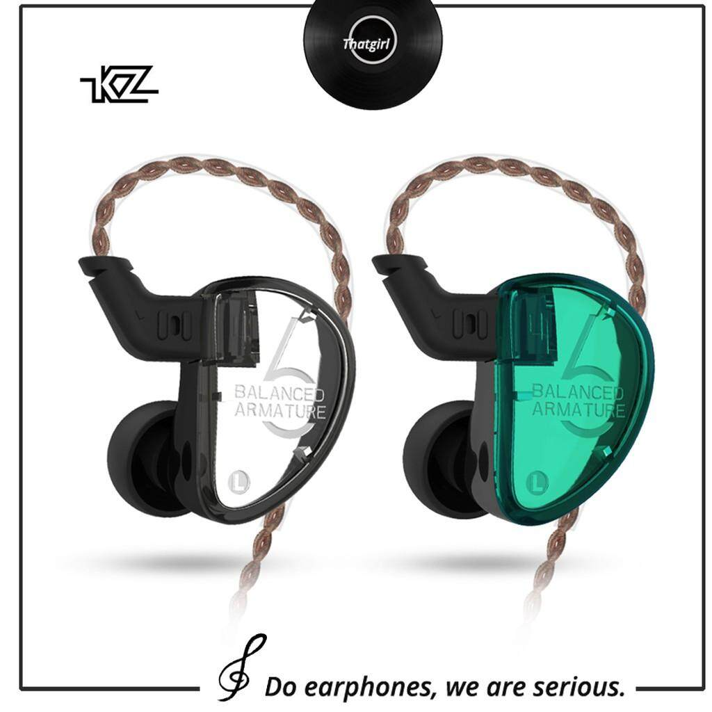 d92ad45ee2b KZ AS06 3BA HIFI Earphone Subwoofer Pure Balanced Armature Sport Earbuds