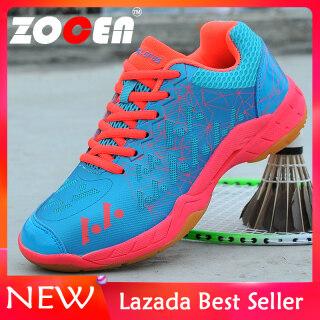 Giày thể thao nữ thích hợp chơi cầu lông thoáng khí phối lưới kháng khuẩn không mùi ZOCEN thumbnail