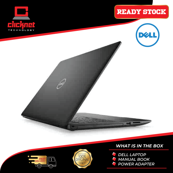Dell Laptop Inspiron 15 (3585-2241SG-W10) 15 Black (R3-2200U, 4GB, 128GB, Integrated, W10) Malaysia
