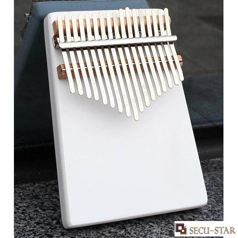 SECU-STAR 17 Tones Finger Percussion Instrument Wood Kalimba Thumb Piano with Accessories Malaysia