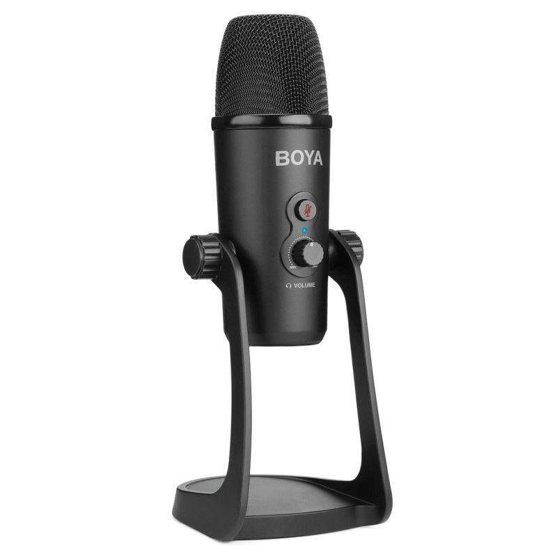 Boya By-Pm700 Usb Computer Live Microphone Flexible Pickup Interview Conference
