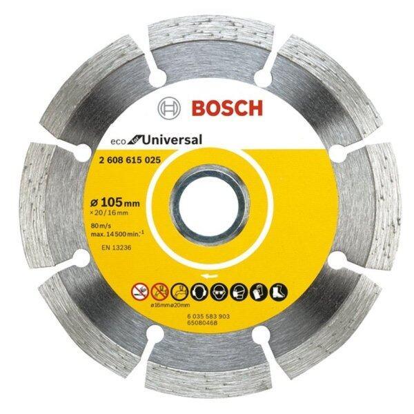 Bosch 105mm (4˝) Eco Diamond Cutting Disc Universal 2608615025