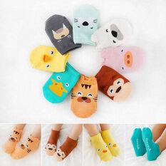kids socks girl boy fashion newborn baby toddler footwear anti slip cute cartoon