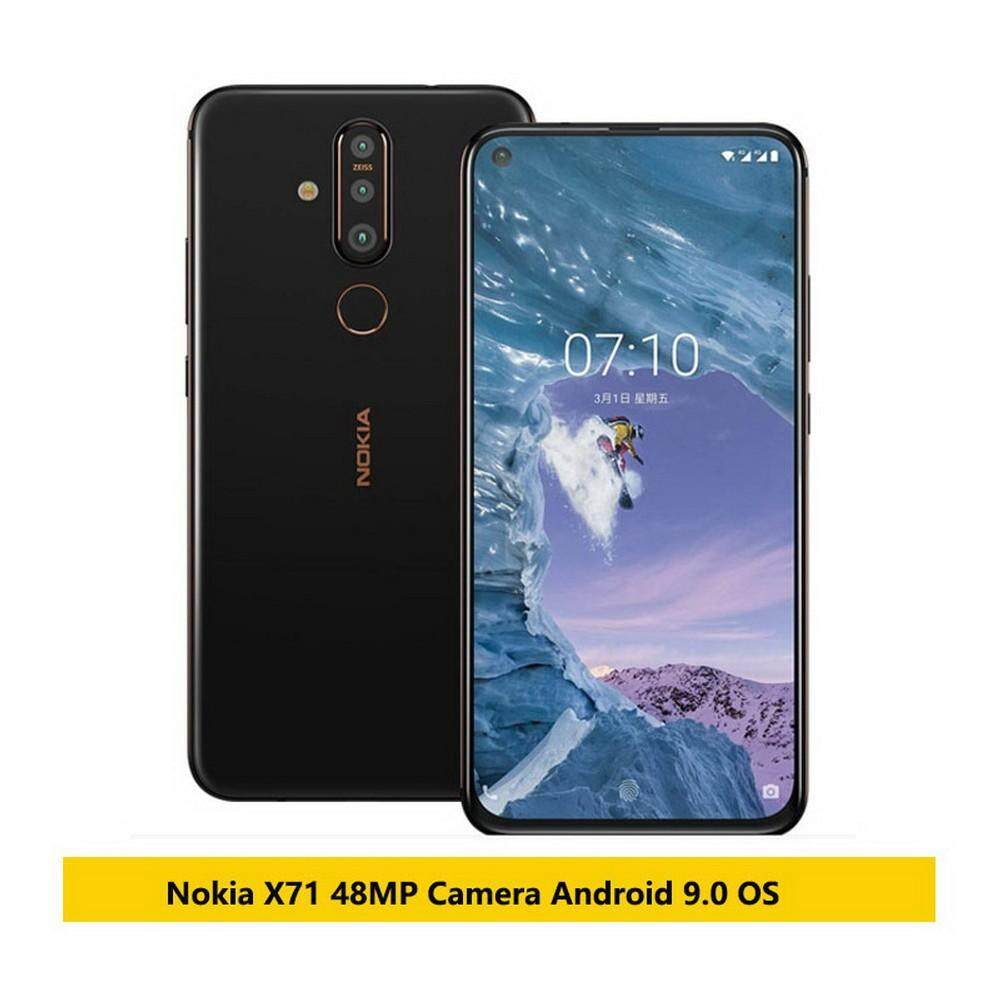 Nokia X71 4G Mobile Phone 6GB RAM 6 39 Inch Snapdragon 660 Octa Core  Android 9 48MP Camera Fingerprint - US Plug