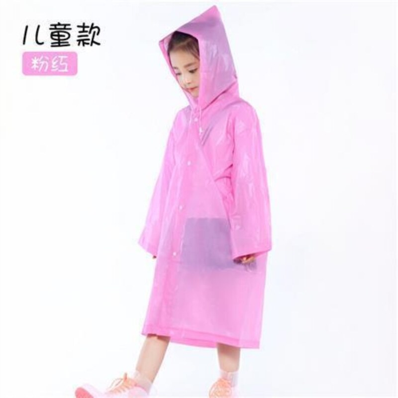 Raincoat coat with both men and women all portable outdoor travel on foot not one-time poncho