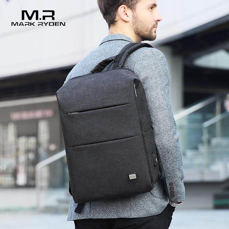 Mark Ryden New Men Backpack For 15.6 inches Laptop Backpack Large Capacity student Backpack Casual Style Waterproof Bag