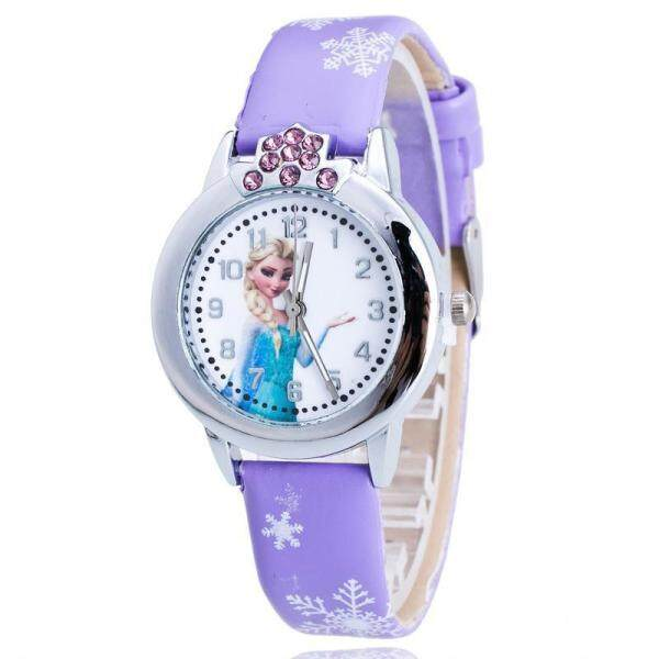 Bounabay Cute Cartoon Quartz Princess Watches Kids Watch Jam Tangan Wanita Anna Elsa Frozen Princess Jam Tangan Kanak Kanak Perempuan Children Watch Fashion Kids Cute Rubber Leather Quartz Watch Birthday Gifts For Kids Girls Jam Kanak Kanak Perempuan Malaysia