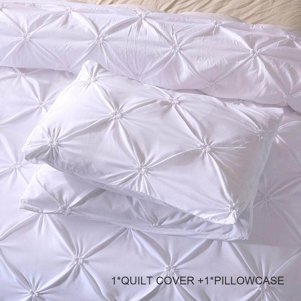 Bedding Sets Quilt Cover Luxury 3pcs 7size Polyester Fiber New Bed Duvet