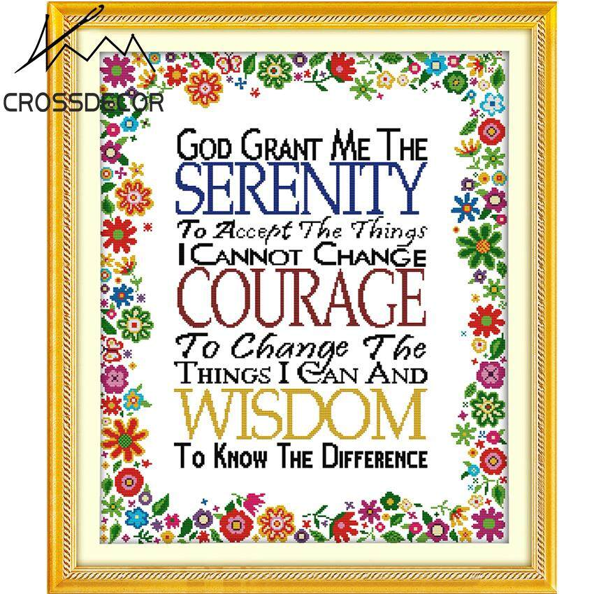 Precise Stamped Cross-Stitch Complete Set The Gift of God DIY Handmade Embroidery Needlework 11CT DMC Complete Kits Pattern Pre-Printed On the Cloth Home Room Decor