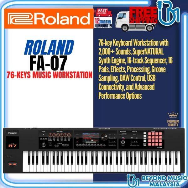 Roland FA-07 76-Keys Music Workstation Malaysia