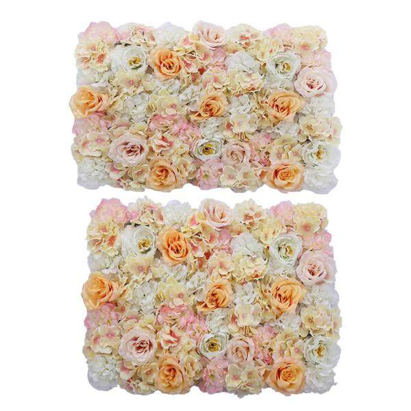 Còi Mặt Trăng, 2 Cây Hoa Giả Treo Tường Trụ Hoa Đám Cưới Hoa Trang Trí Đường Chính