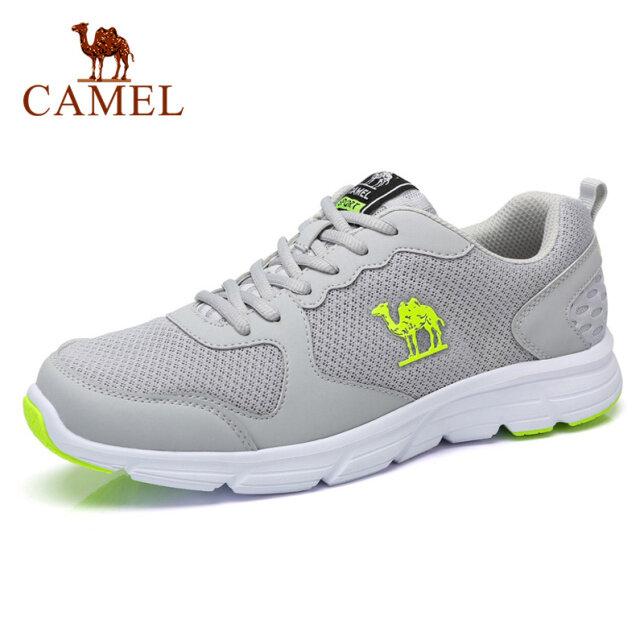 Camel giày thể thao lưới cho nam, thoáng khí, đế nhẹ êm chân, dùng tập gym, giá tốt giá rẻ