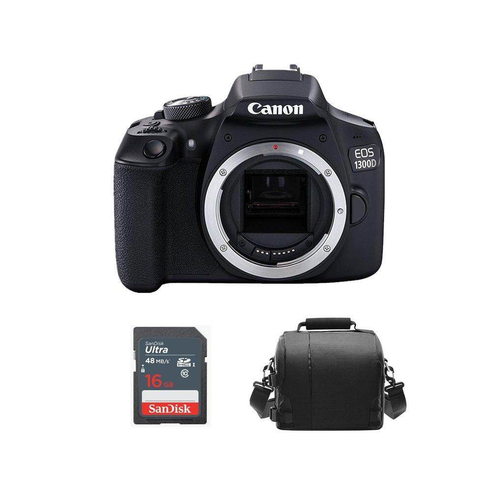 CANON EOS 1300D Body+ Camera Bag + 16GB