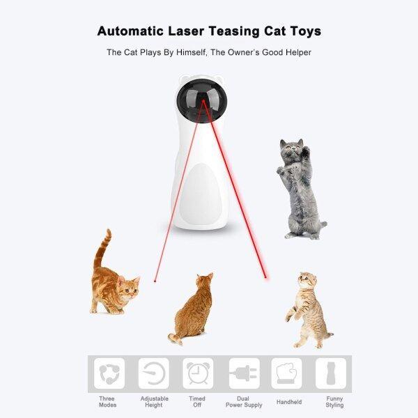 Đồ Chơi Laser Cho Mèo, Đồ Chơi Gatos, Juguetes Para Jouet Chat Pet Tương Tác Pour Kitten Laserpointer Trêu Ghẹo Chơi Tự Động Chạy Điện USB