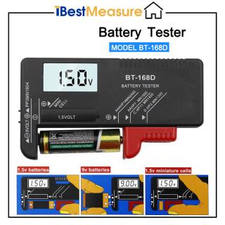 IBestMeasure Máy Kiểm Tra Pin Kỹ Thuật Số LCD Thông Minh BT168D Bộ Kiểm Tra Đo Năng Lượng Pin Điện Tử Đồng Hồ Đo Pin C D 9V 1.5V AA AAA Cell thumbnail