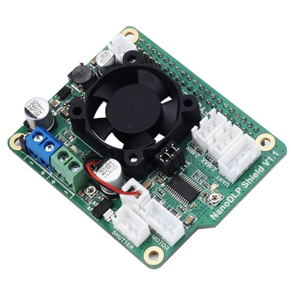 Bảng giá NanoDLP Shield V1.1 Expansion Board with DRV8825 Controlled MOS for Raspberry Pi 3B and Light-Cured 3D Printers Phong Vũ