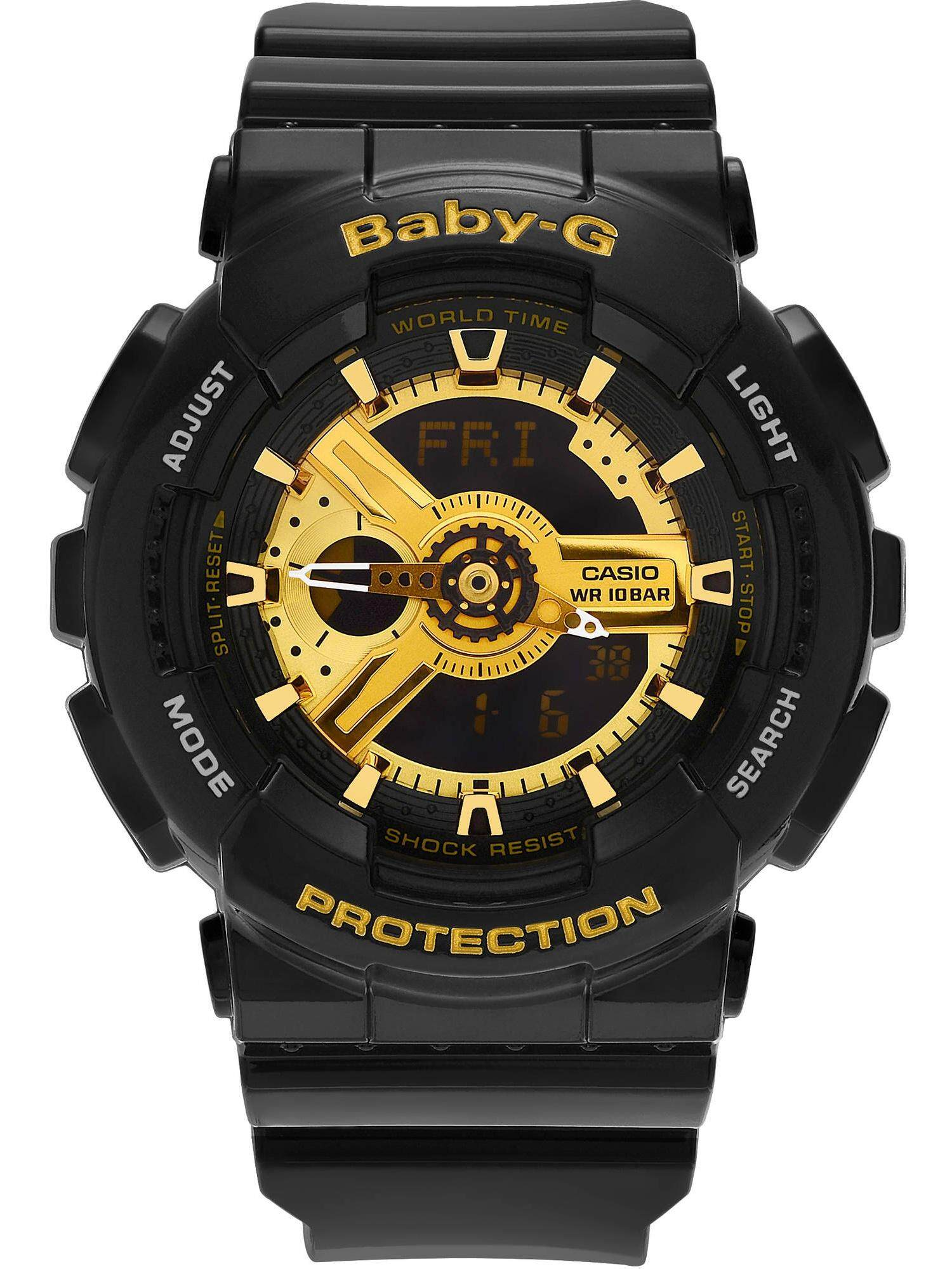 SPECIAL PROMOTION CASI0 BABY....G_BG110 DUAL TIME RUBBER STRAP WATCH FOR WOMEN Malaysia